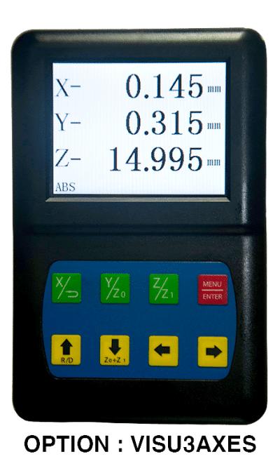 Perceuse-fraiseuse WBM30 visualisation numérique 3 axes